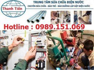 Sửa chữa điện nước tại quận Tây Hô ZaLo O989151069