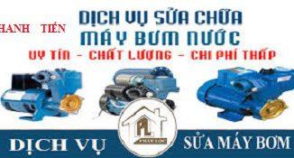 sửa máy bơm nước tại quận Cầu Giấy