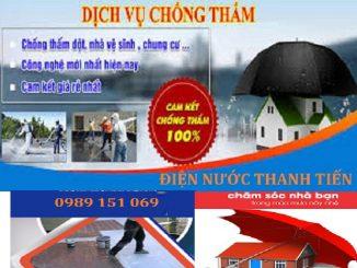 thợ chống thấm dột tại quận Ba Đình