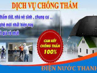 chống thấm dột tại quận Hoàng Mai