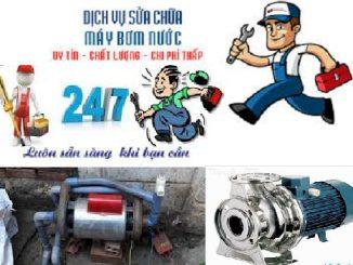 sửa chữa máy bơm nước tại quận Ba Đình