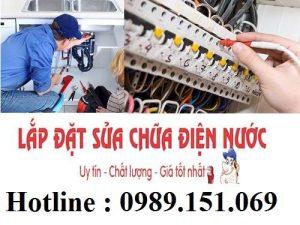 Sửa chữa điện nước tại Đền Lừ 0989 151 069