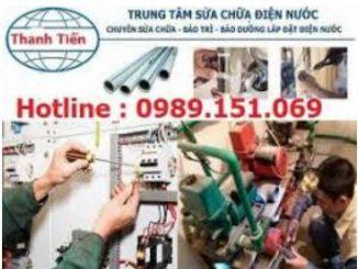 Sửa chữa điện nước tại Cổ Nhuế
