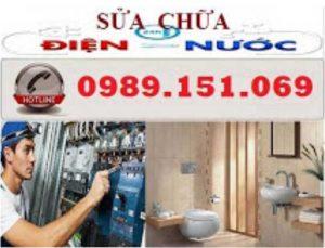 Sửa chữa điện nước tại Nguyễn Khánh Toàn 0989151069