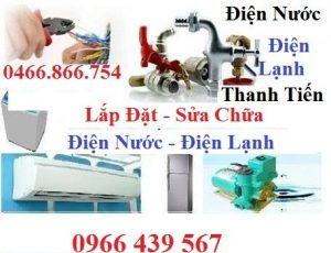 Sửa chữa điện nước tại Lĩnh Nam - Nhanh gọn - Giá rẻ