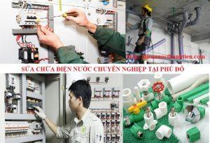 Sửa điện nước tại Phú Đô giá rẻ 0966 439 567
