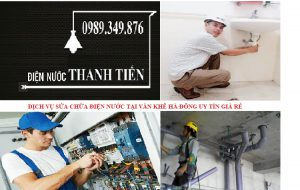 Sửa chữa điện nước tại Văn Khê 0989 151 069
