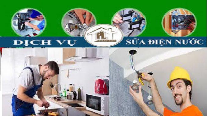 sửa chữa điện nước tại Đào Tấn