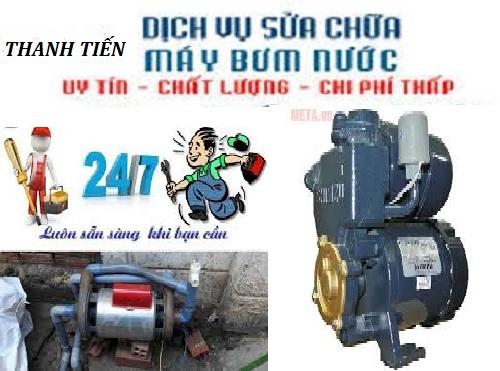 sửa máy bơm nước tại Quận Hoàng Mai