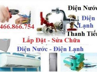 Sửa chữa điện nước tại Lĩnh Nam
