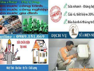 sửa chữa điện nước Xuân Phương