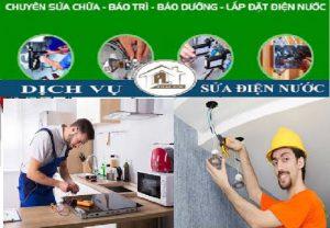 Sửa chữa điện nước tại Đào Tấn 0989 151 069