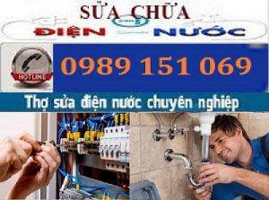 Sửa chữa điện nước tại Kim Mã 0989 151 069