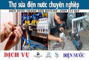 Sửa chữa điện nước tại Phú Diễn 0989 151 069