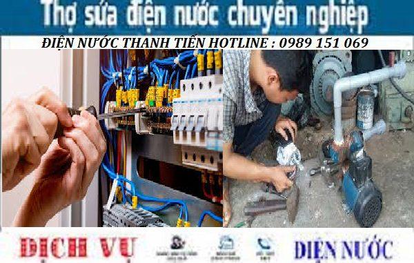 sửa chữa điện nước tại Phú Diễn